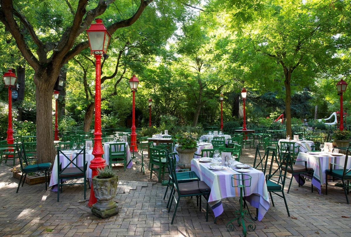 Restaurant gastronomique terrasse jardin saint germain - Restaurant terrasse jardin grenoble mulhouse ...