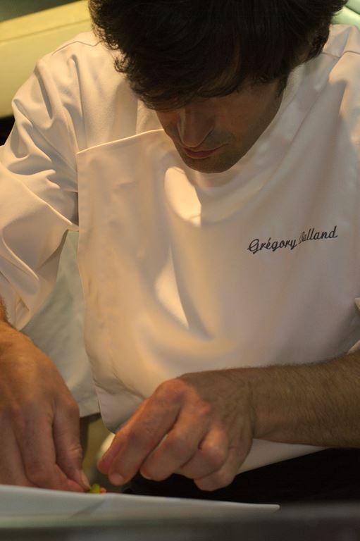 Chef Grégory Balland - Cazaudehore